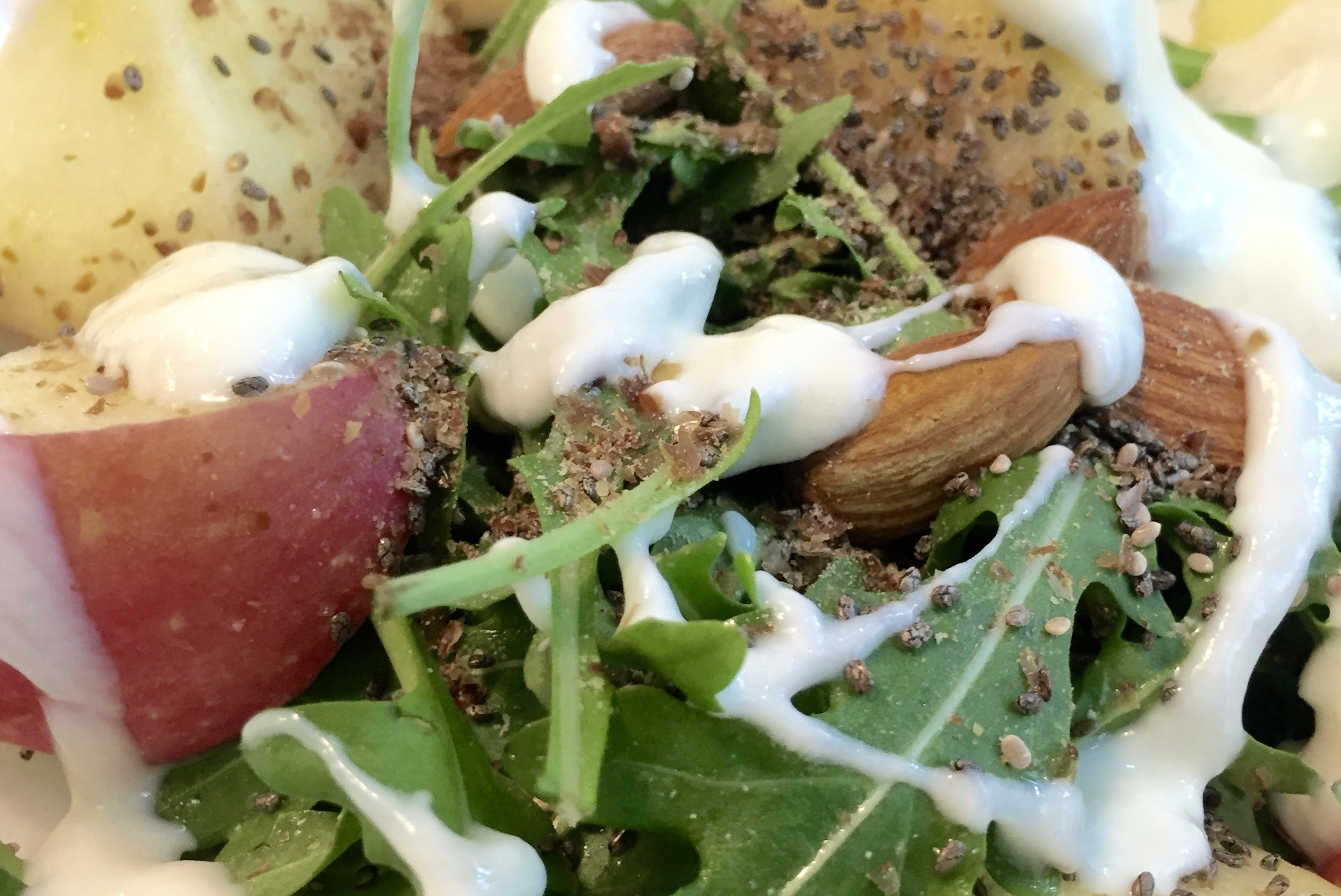 Healthy Breakfast Singapore - Apple and nuts salad