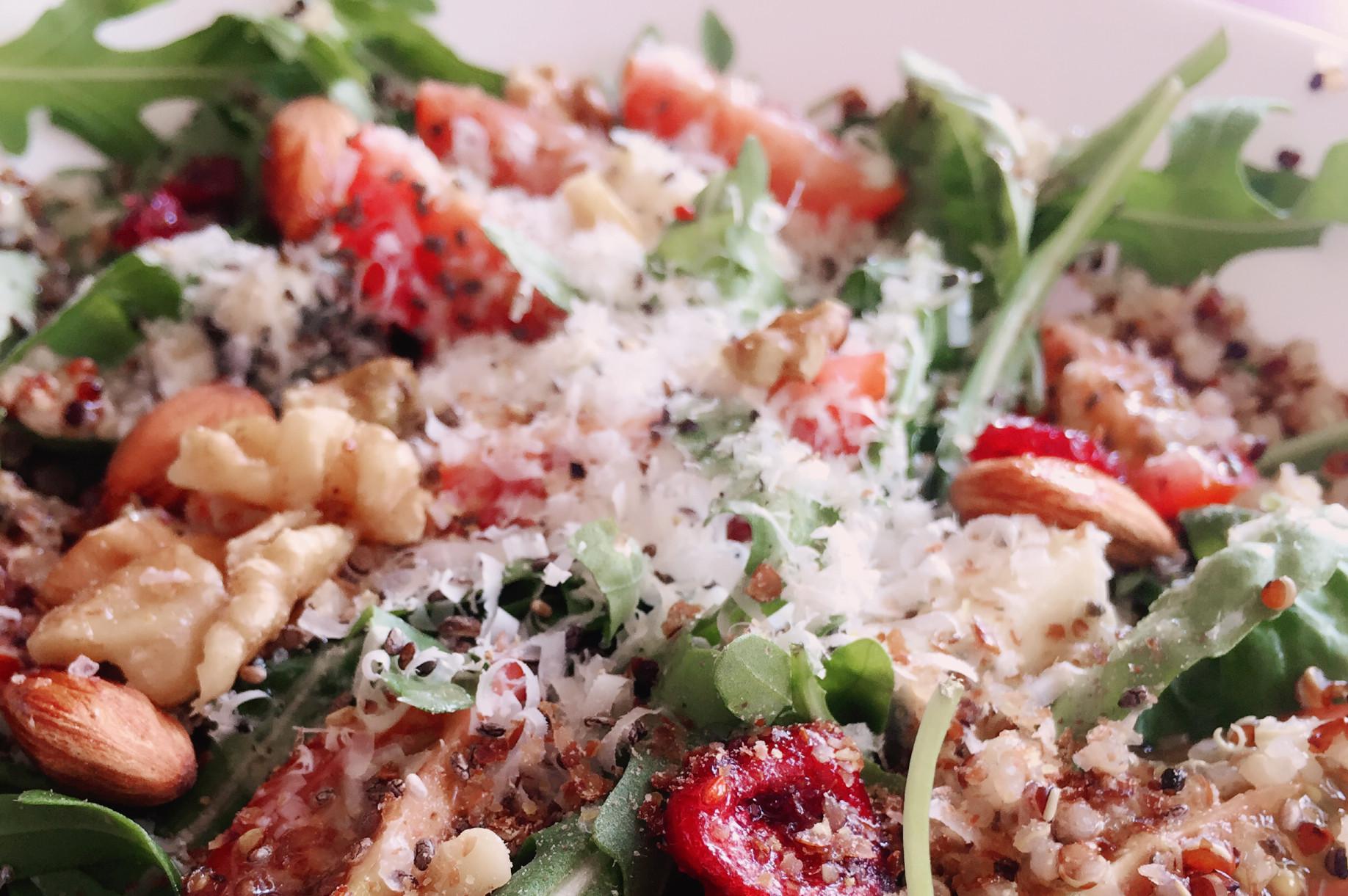 Healthy breakfast Singapore - Quinoa Salad
