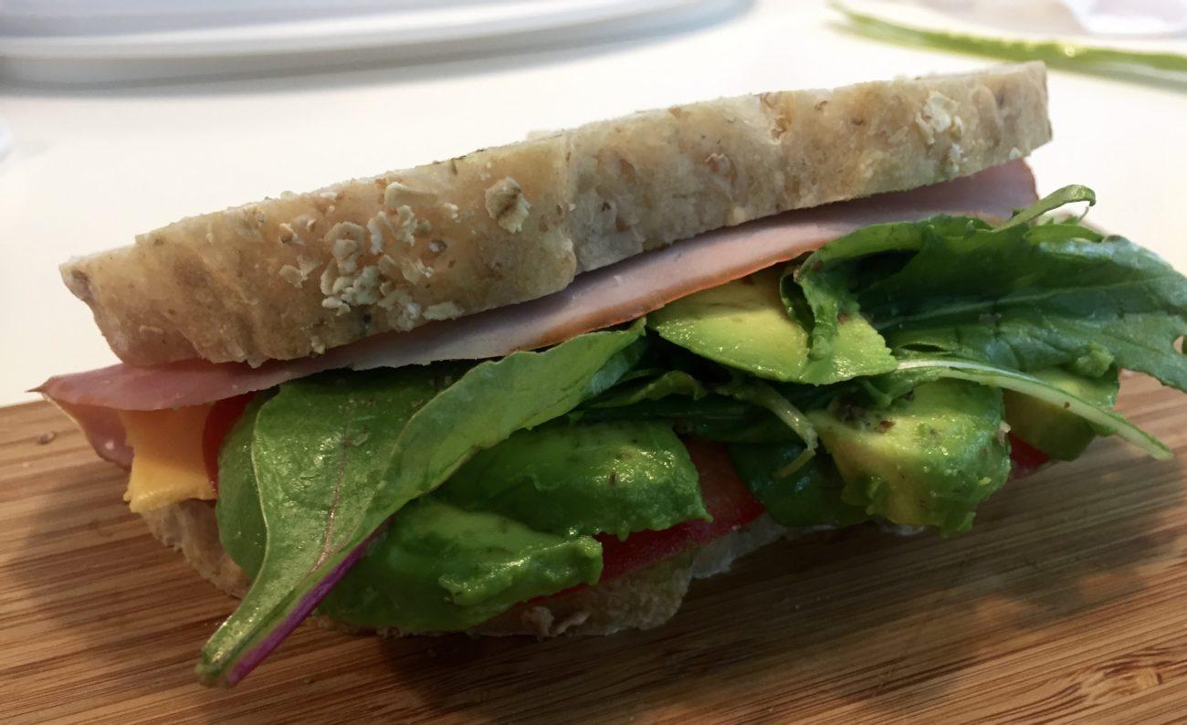 Healthy Ham & Cheese Sandwich
