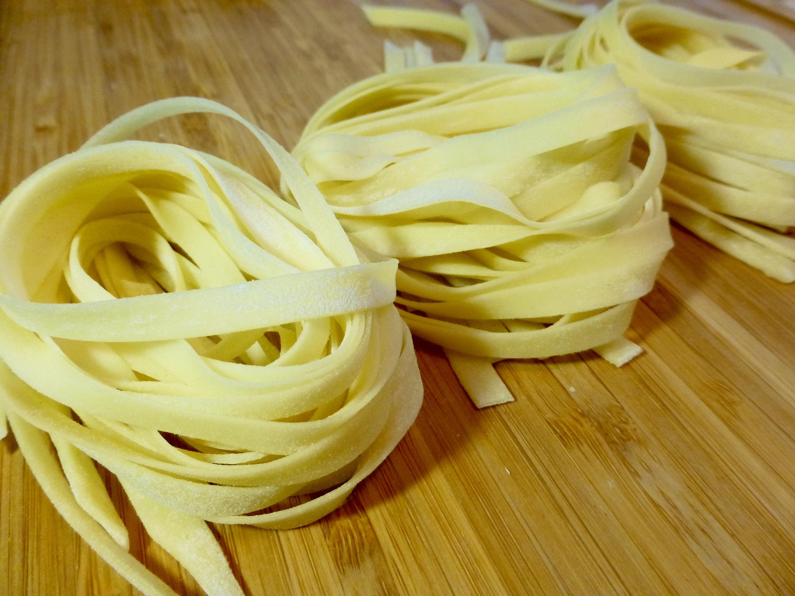fresh pasta fettucine 1