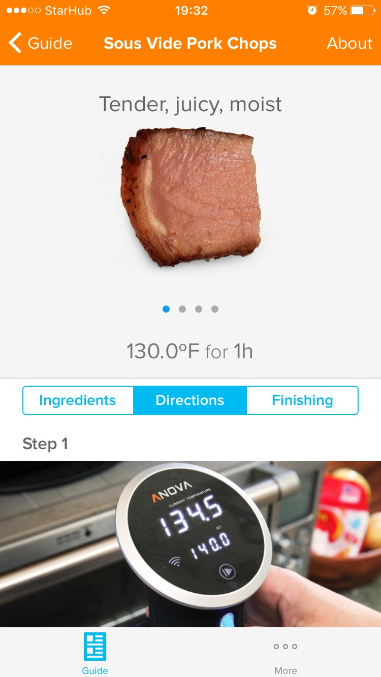 Anova Sous Vide Review App 3