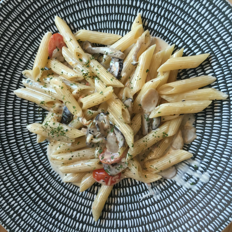 mahota review pasta mushroom