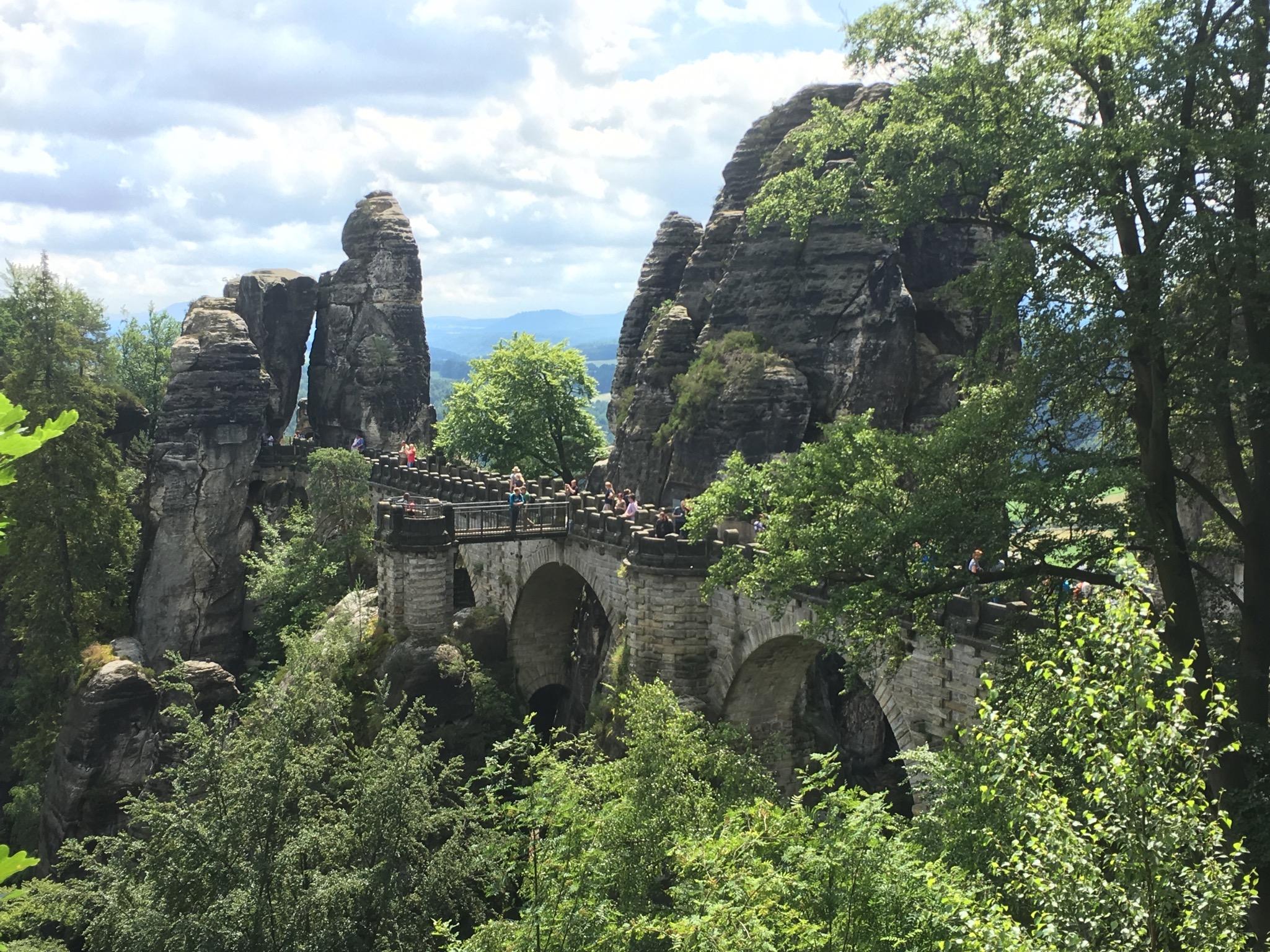 Things to do in Berlin Malwerg Trail - Bastei Bridge