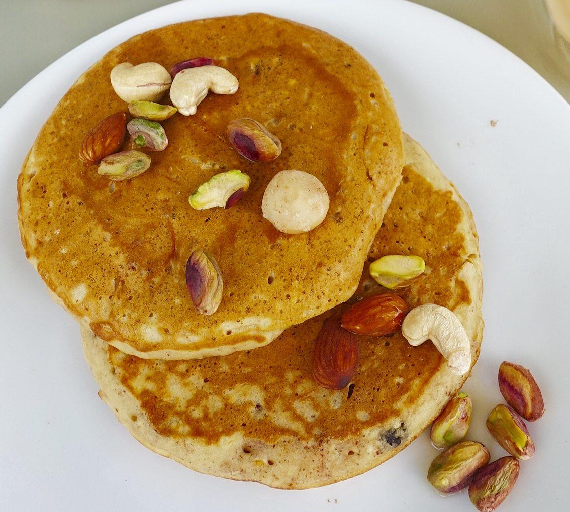 Healthy Pancake Recipe – Oatmeal Carrot (pan)cake