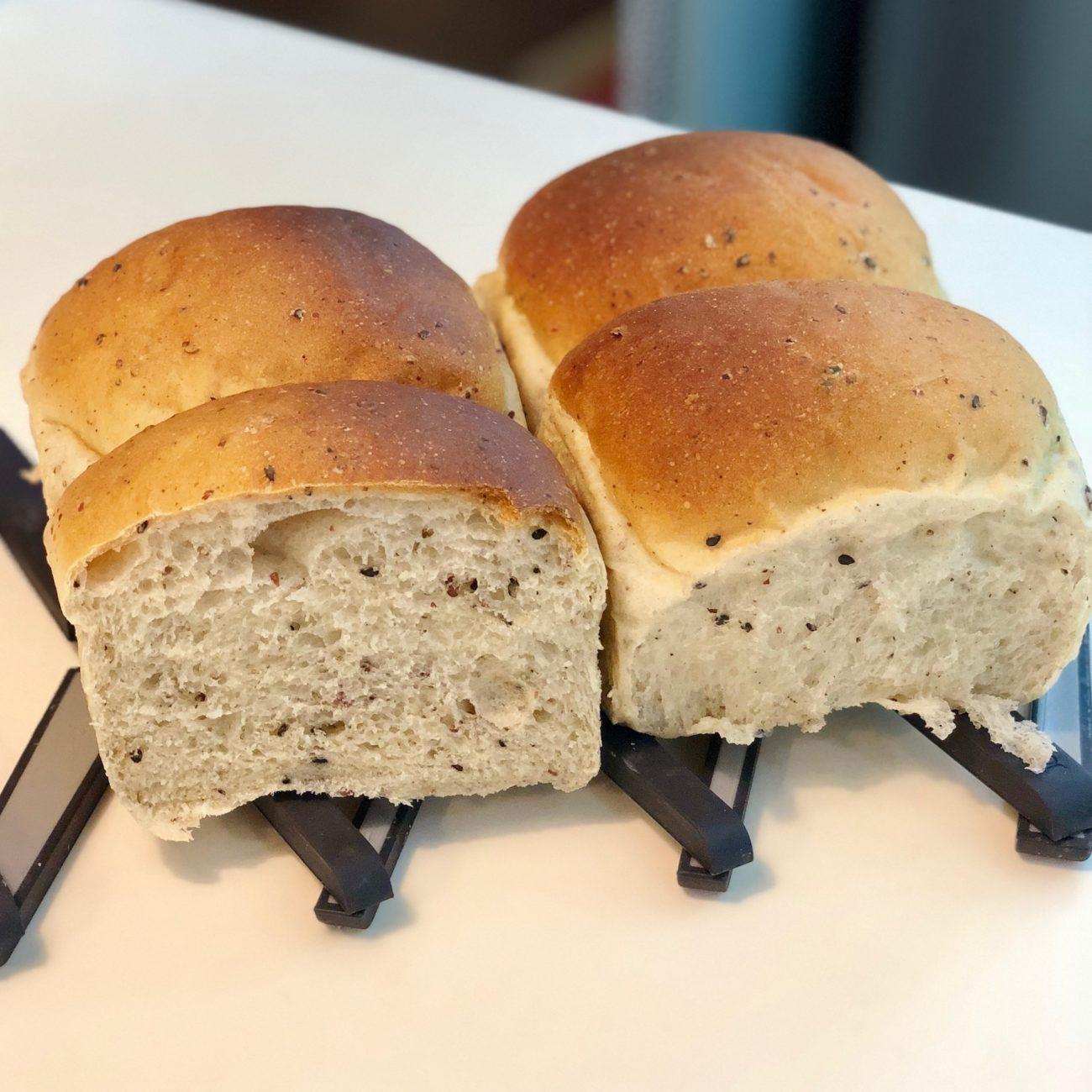 Super soft sourdough wholemeal bread